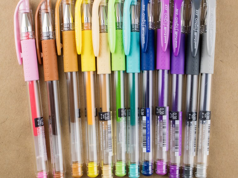 Pen Review: Uni Signo DX 0.38 – 2017 Colors