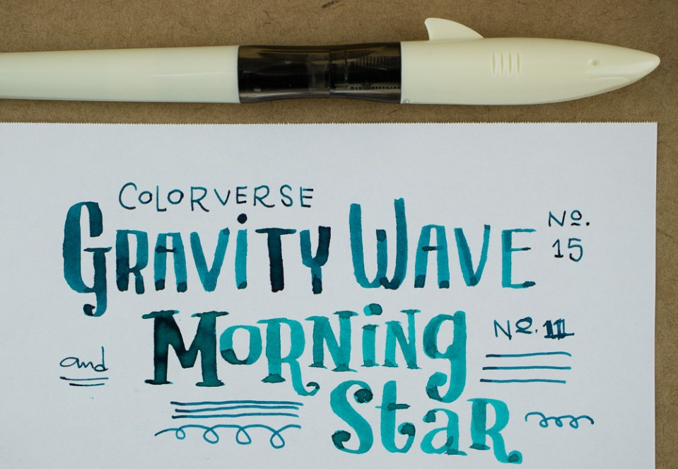 Ink Review: Colorverse Morning Star & Gravity Wave