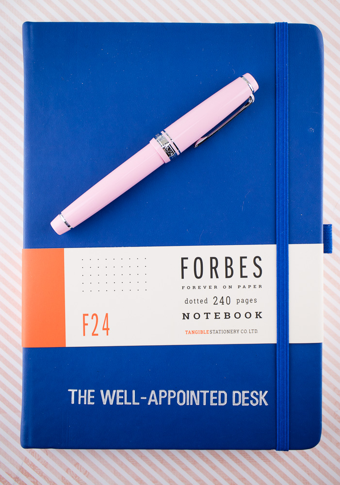 Notebook Review: Tangible Stationery Customized Forbes F24 Journal