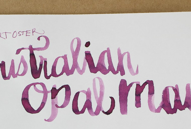 Ink Review: Robert Oster Australian Opal Mauve
