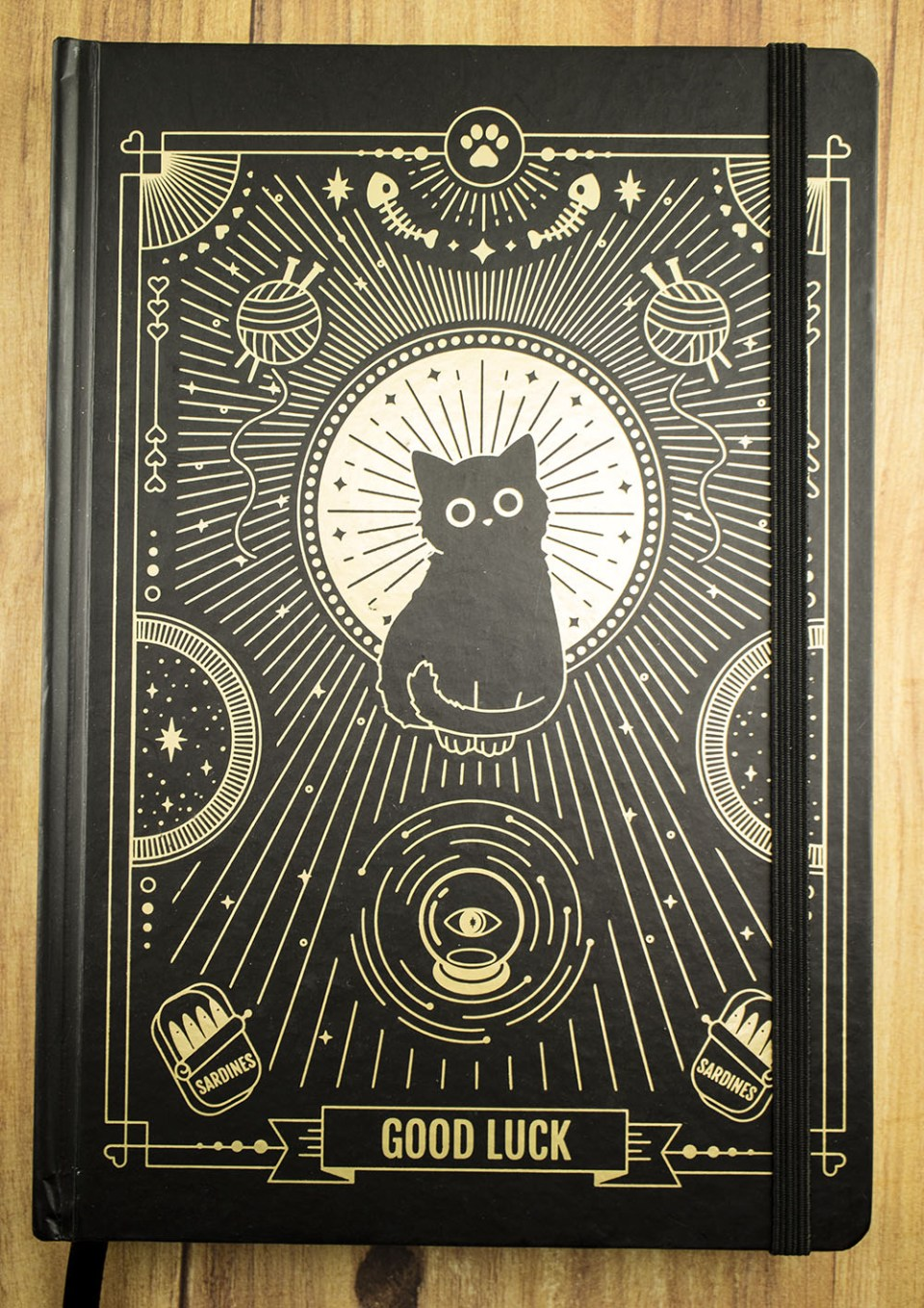 Compoco Good Luck Cat Journal Cover