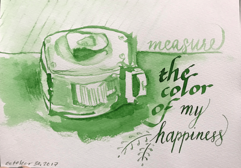 Bungbox Happiness Art lettering