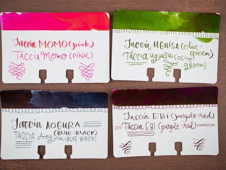 Ink Preview: Taccia Inks