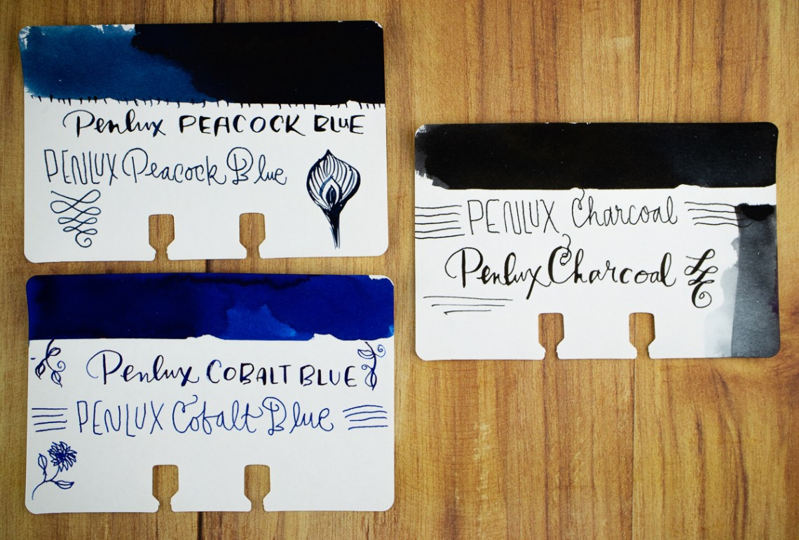 Penlux swatches