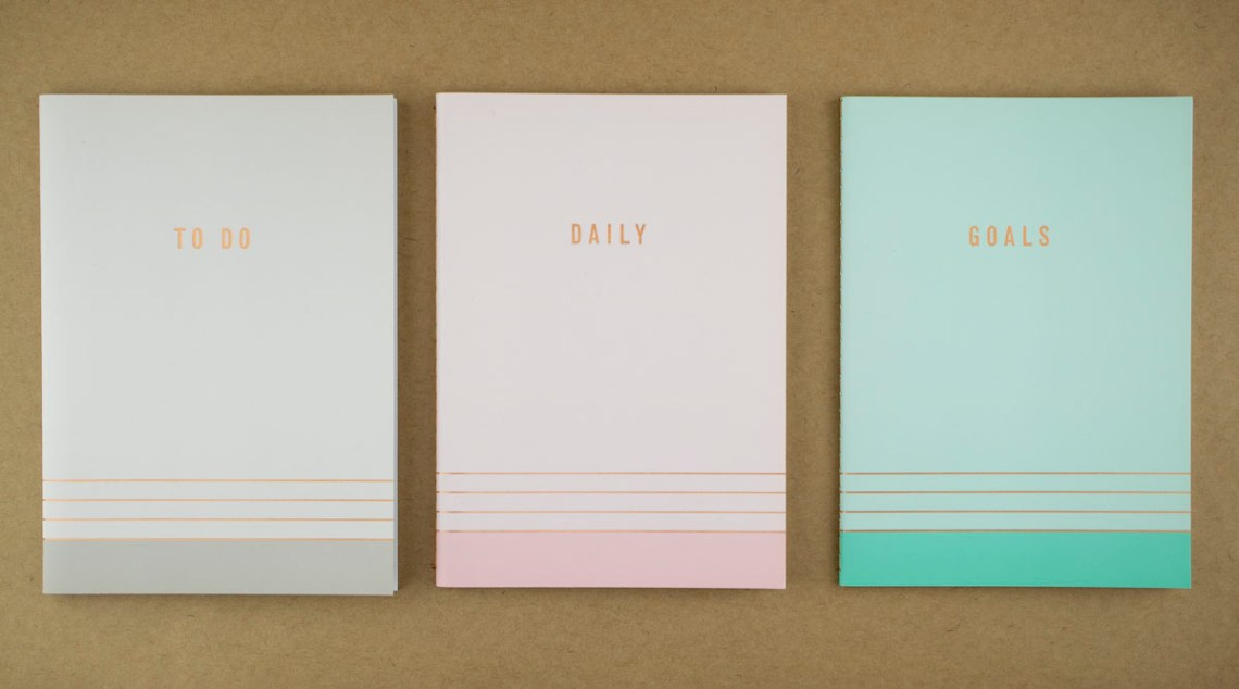 Notebook Planner Set