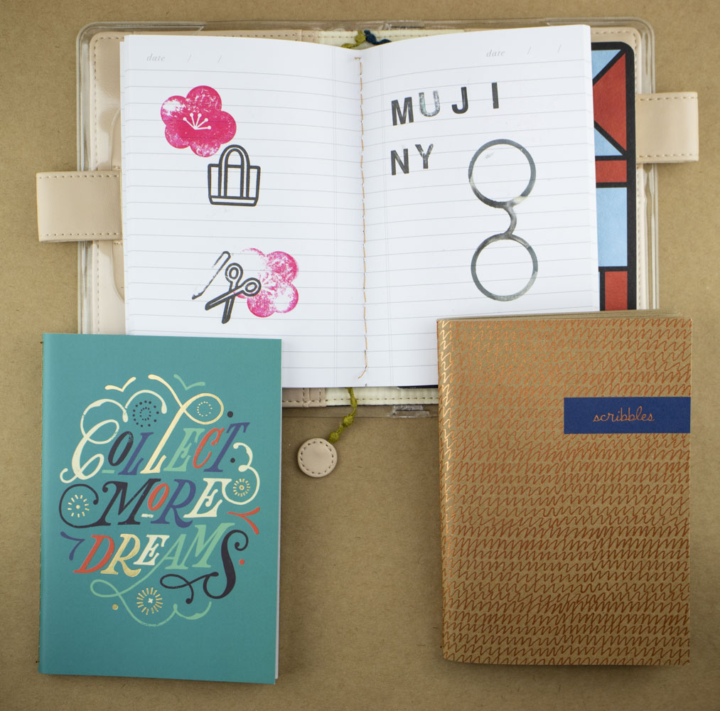 Hallmark A6 size notebook in Hobonichi