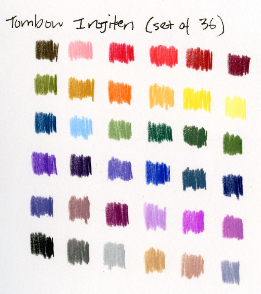 10 - Irojiten color swatches