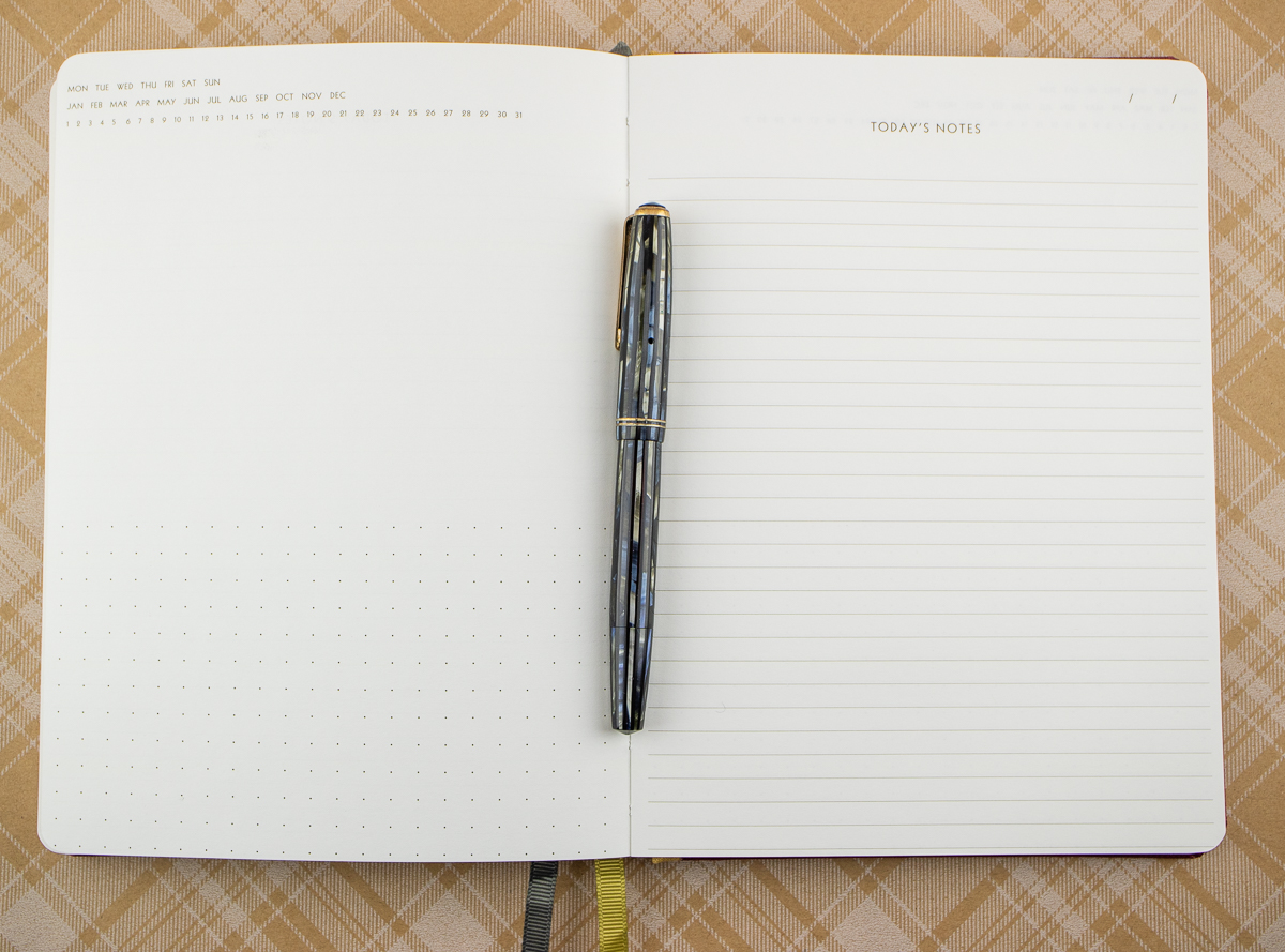 Notebook Review: Floor 9 Cloth Cover Daily Notebooks (and Giveaway)