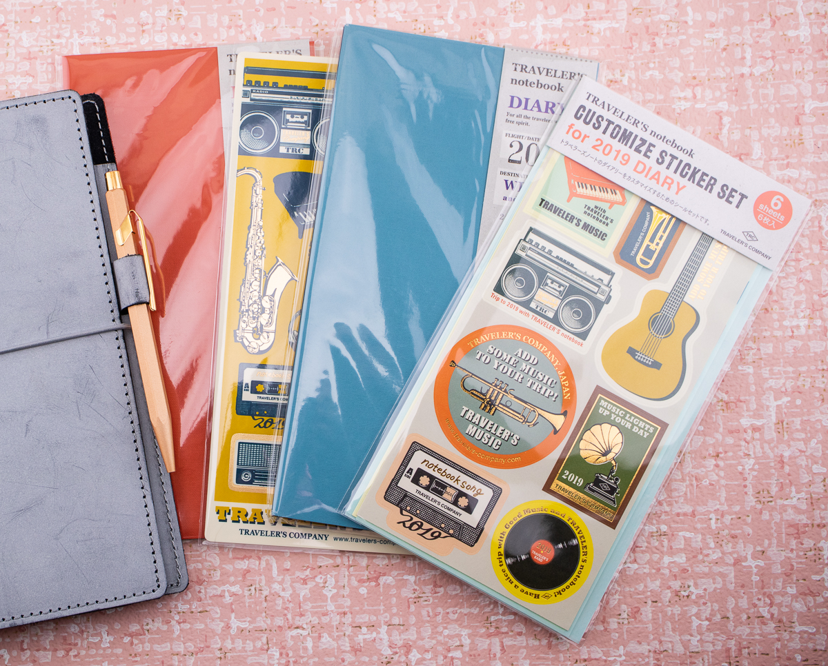 Review: 2019 Traveler's Notebook Diary Inserts