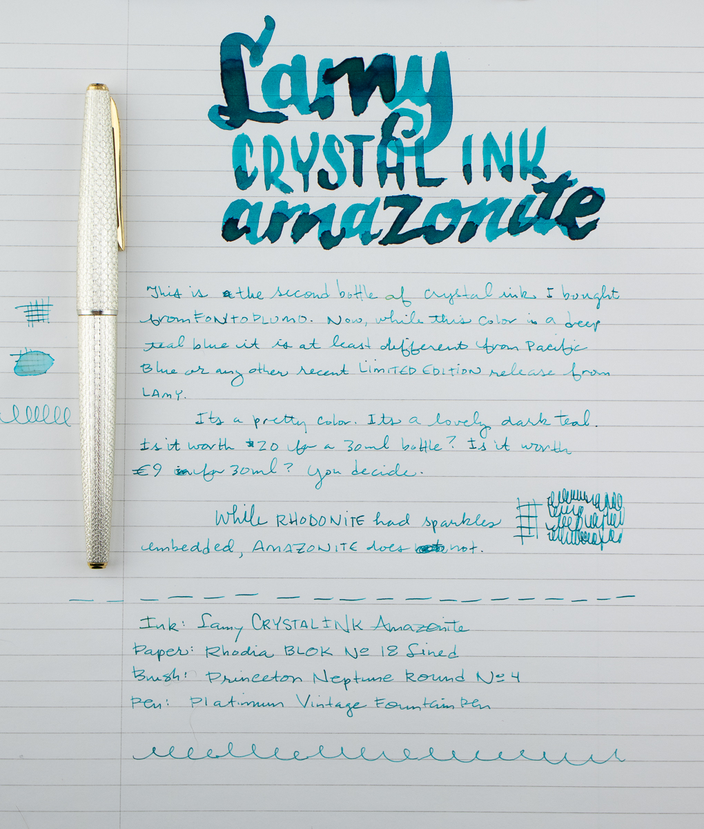 Lamy Crystal Amazonite