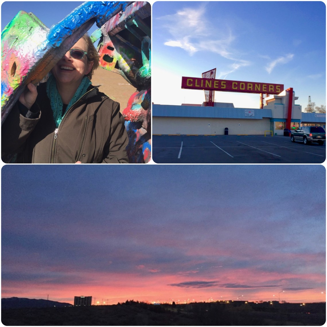 On the Road to LA: Southwestern Skylines and Cadillac Ranch