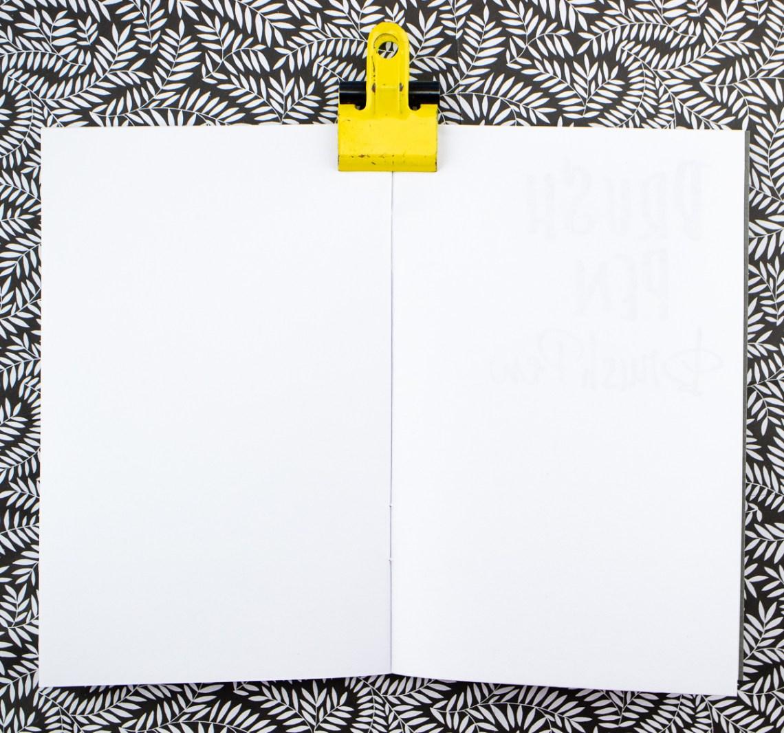 Beech Tree Notebooks reverse side
