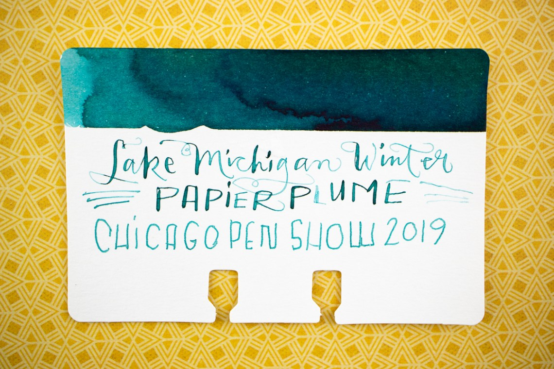 Papier Plume Lake Michigan Winter
