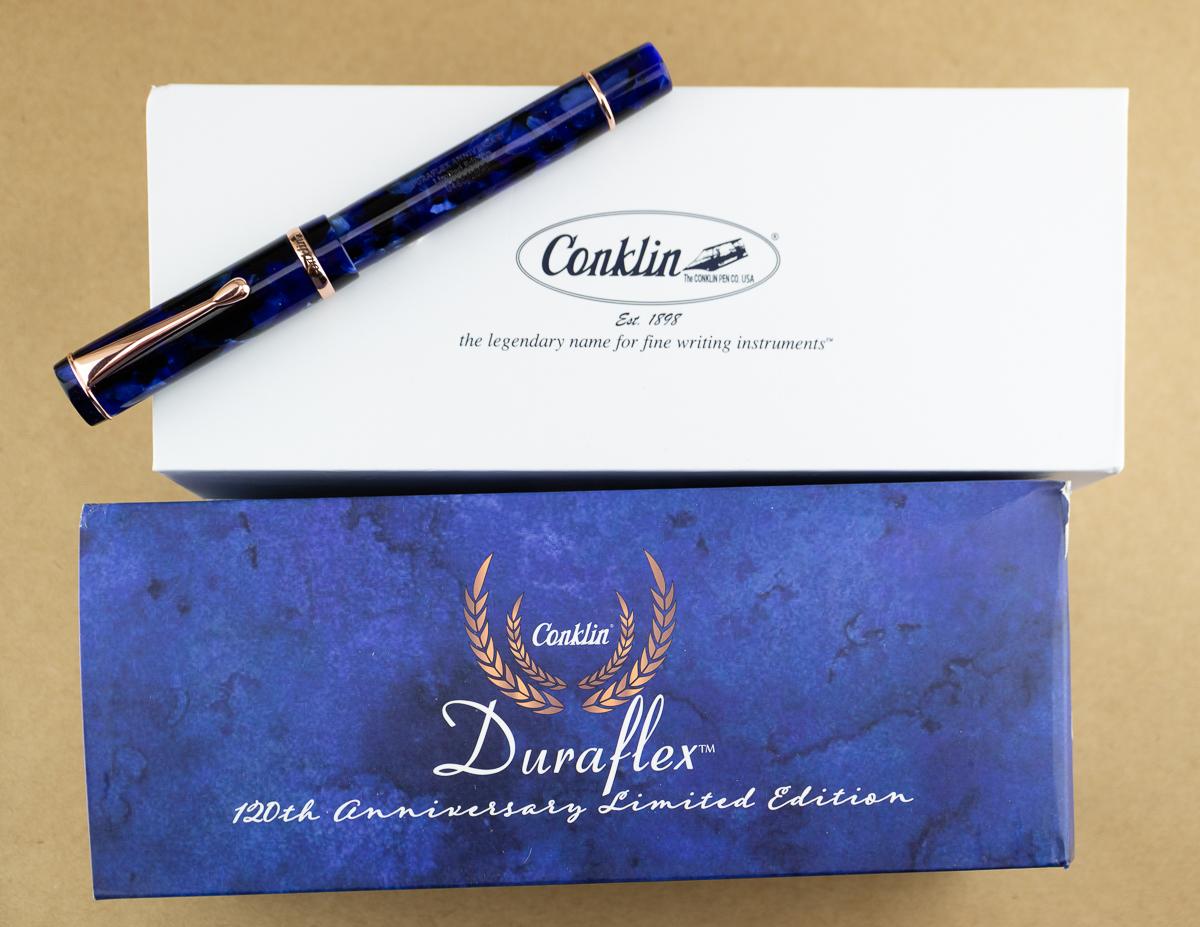 Fountain Pen Review: Conklin Duraflex 120th Anniversary Limited Edition