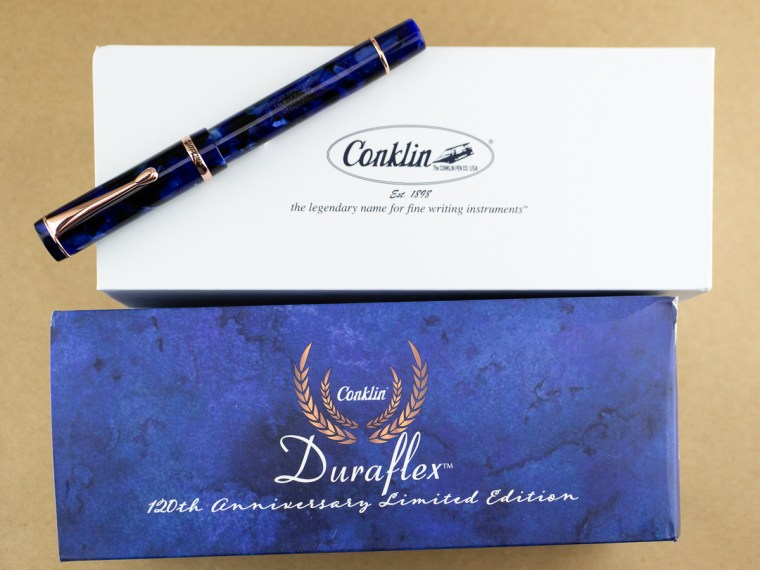 Fountain Pen Review: Conklin Duraflex 120th Anniversary Limited Edition