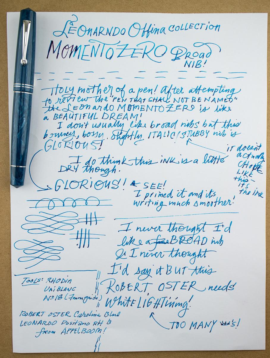 Leonardo Officina Momento Zero