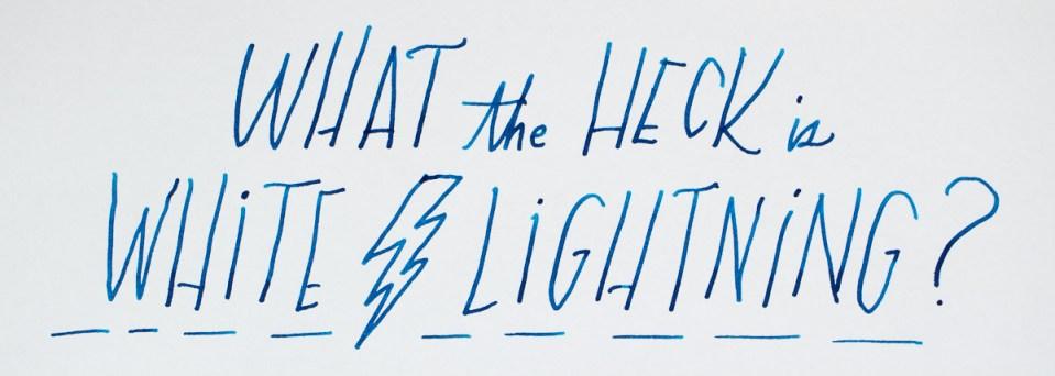 White Lightning Ink Additive