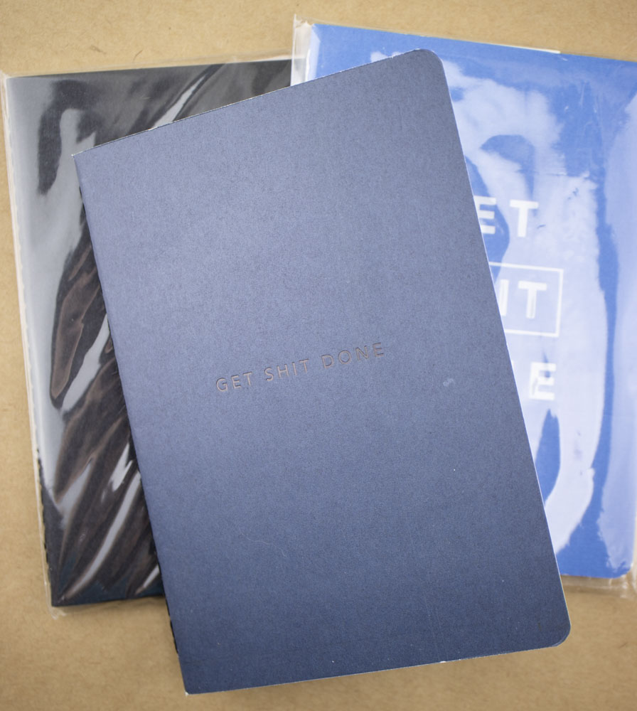 Notebook Review: MiGoals Get Shit Done A6 Notebook (and Giveaway)