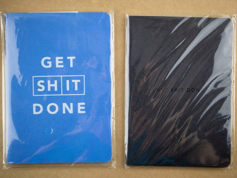 Giveaway Winners: MiGoals Get Shit Done Notebooks