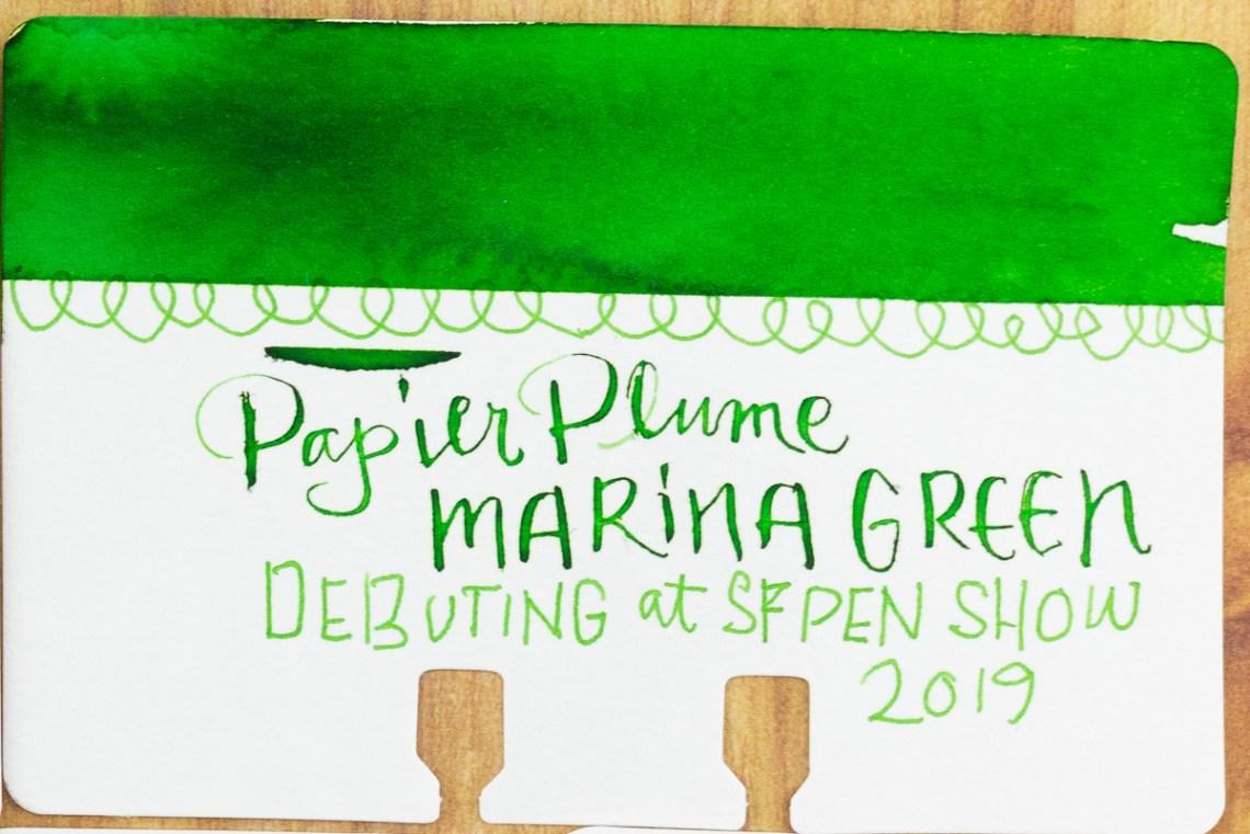 Papier Plume Marina Green Col-o-dex