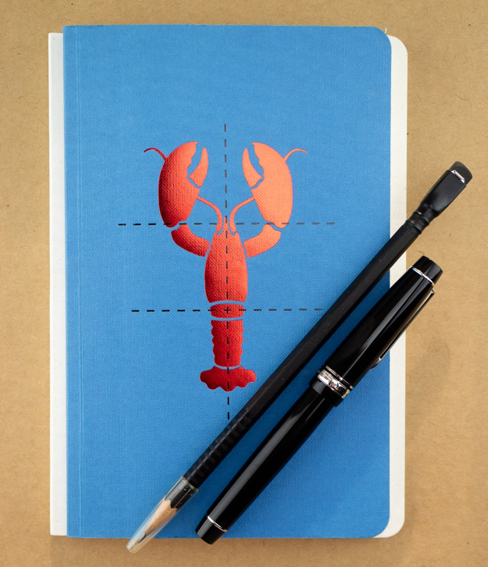 Poach My Lobster Notebook