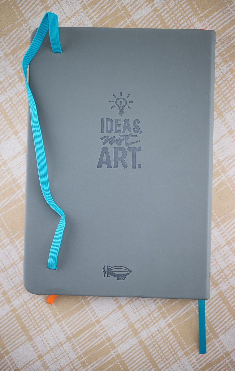 Sketchnote Notebook back cover