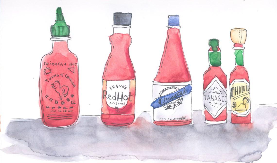 Inktober 2019 - Hot Sauce