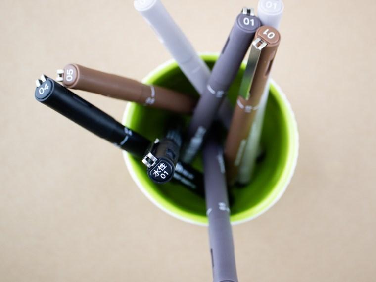 Pen Review: Uni Pin Pens