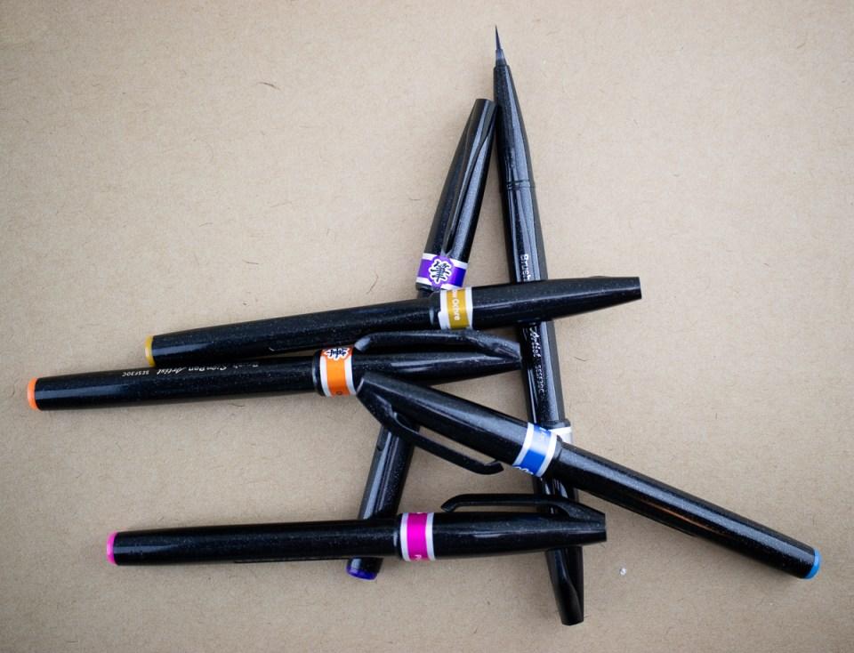 Pen Review: Pentel Artist Brush Sign Pen
