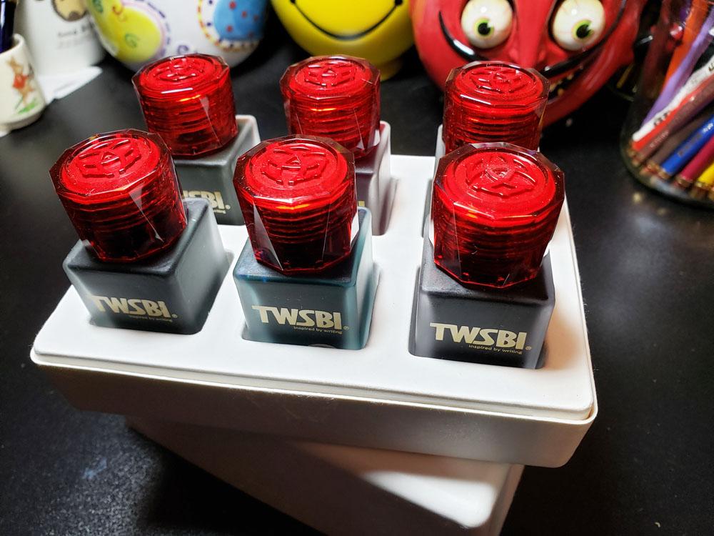 TWSBI bottle tops