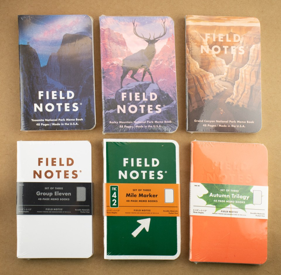 Field Notes 2019