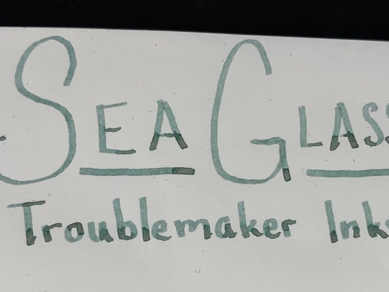 12 Days of Inkmas: Day 9 – Troublemaker Inks Sea Glass