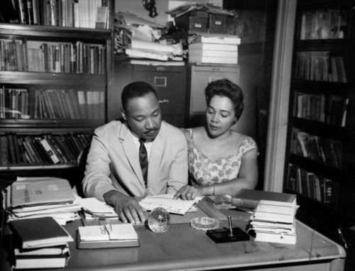 Martin Luther & Coretta Scott King