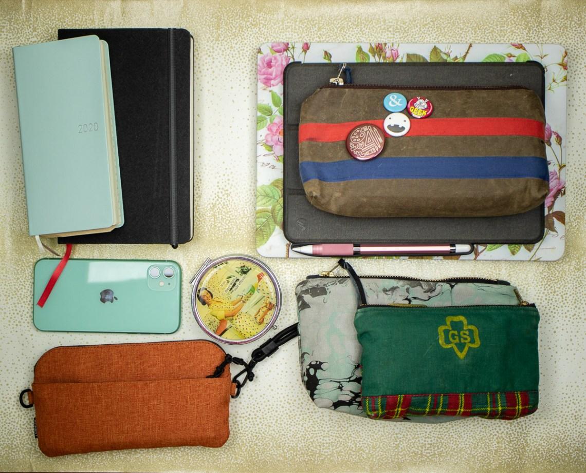 Baron Fig Venture Slimline Backpack contents