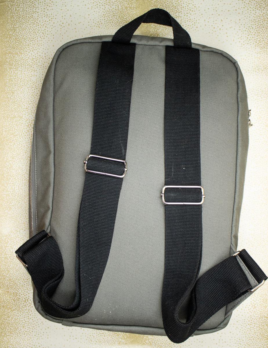 Baron Fig Venture Slimline Backpack back