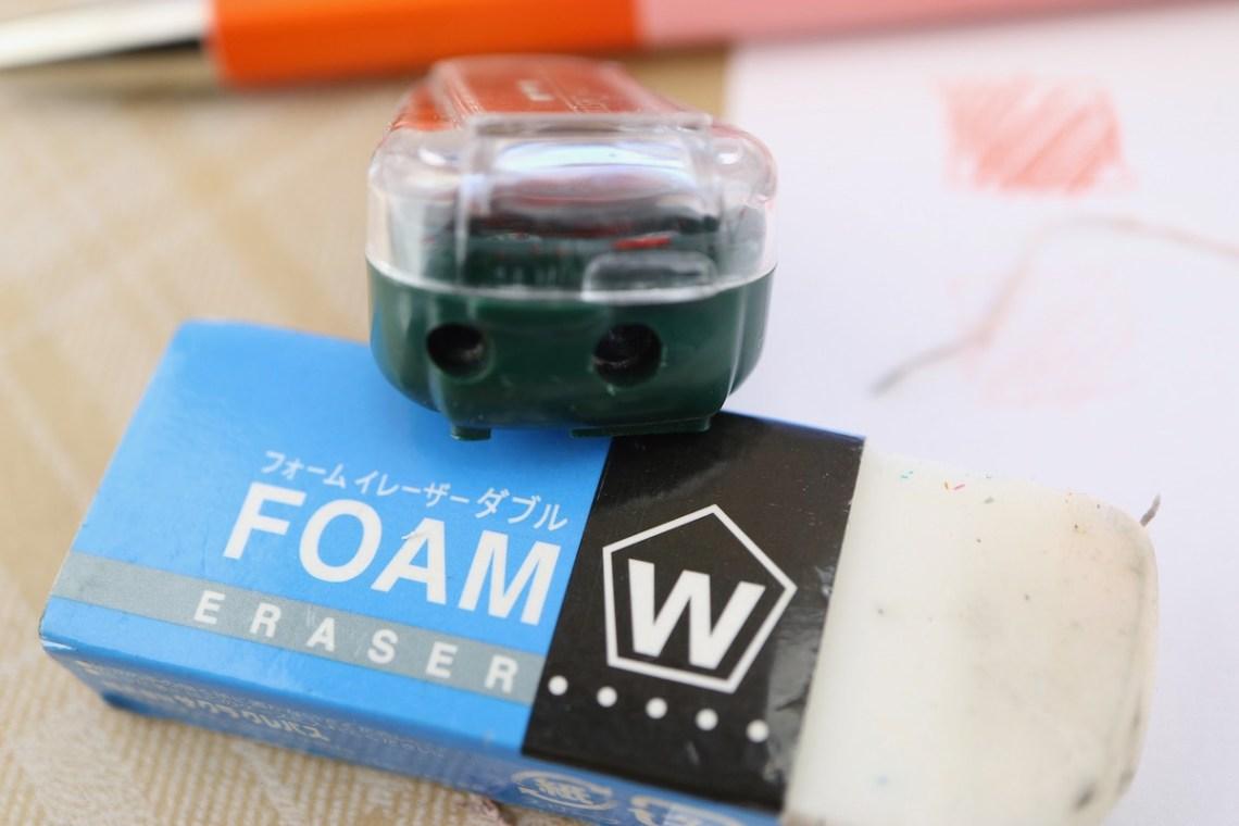 Penco Prime Timber 2.0 + foam eraser + sharpener