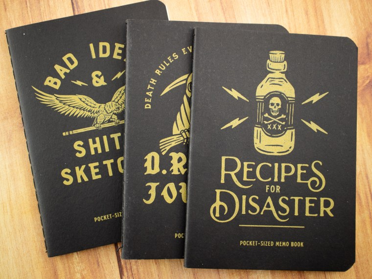 Notebook Review: Newton Design Co. Memo Books