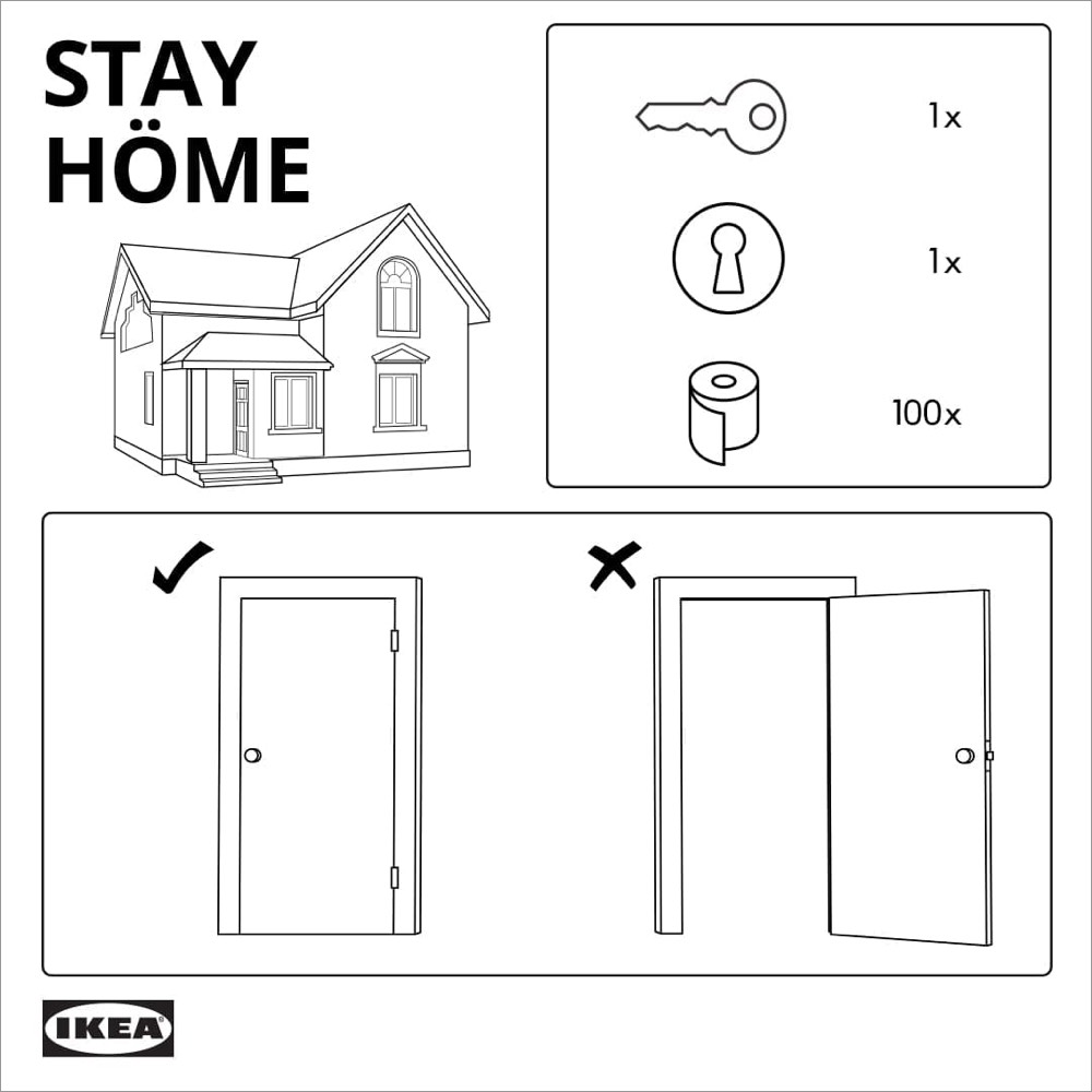 Ikea Stay at Home