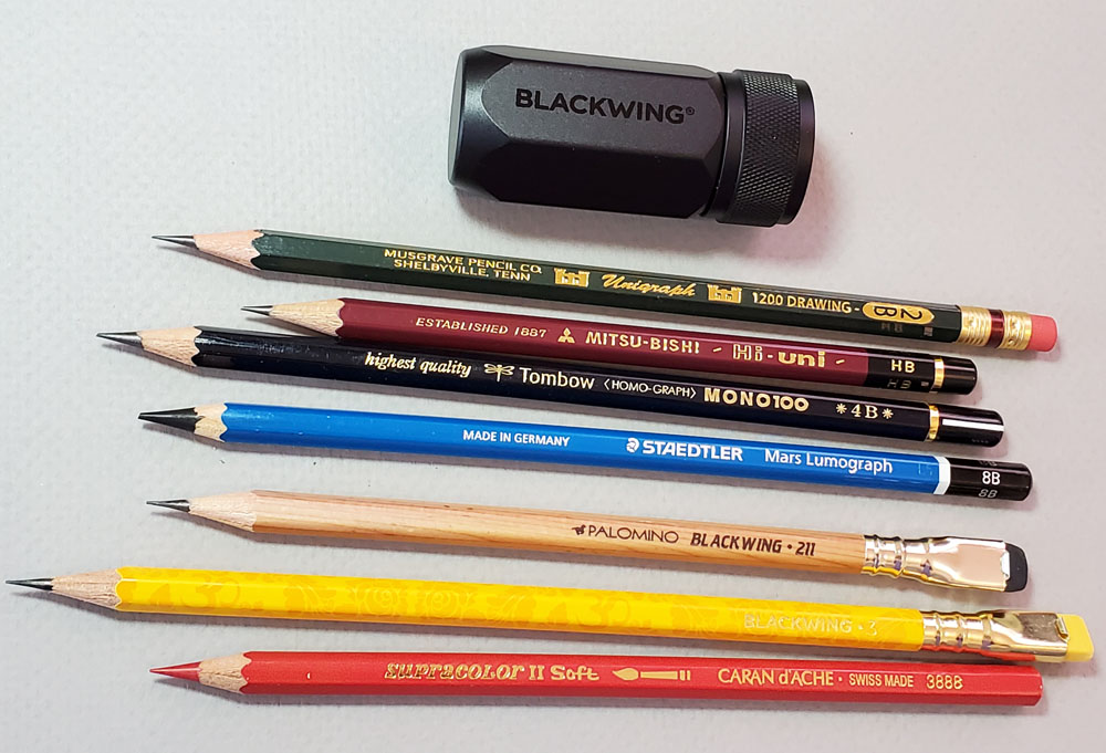 all pencils tested
