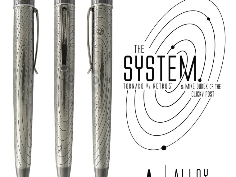 Giveaway Winner: Retro51 The System Alloy from ClickyPost