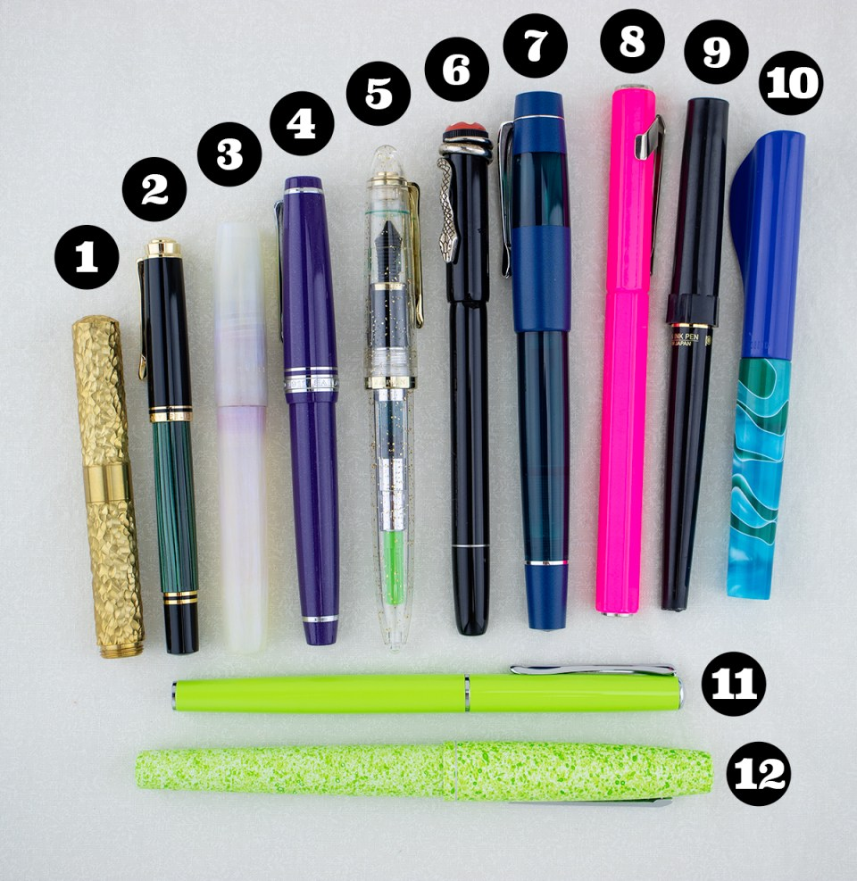 My Favorite Fountain Pens