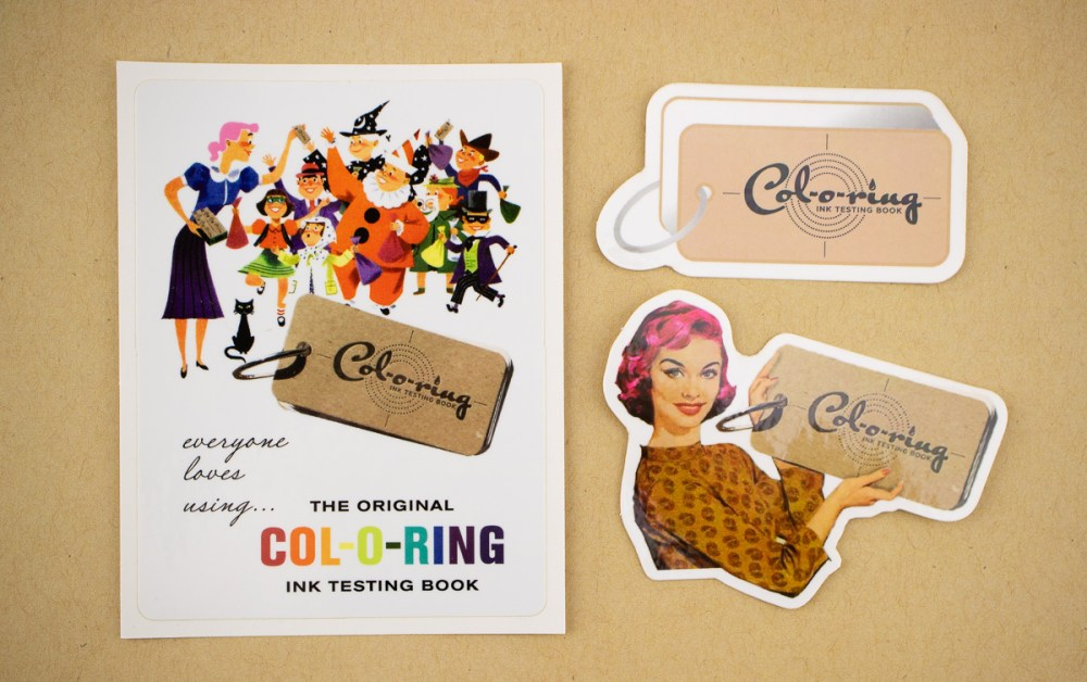 Col-o-ring Sticker Pack