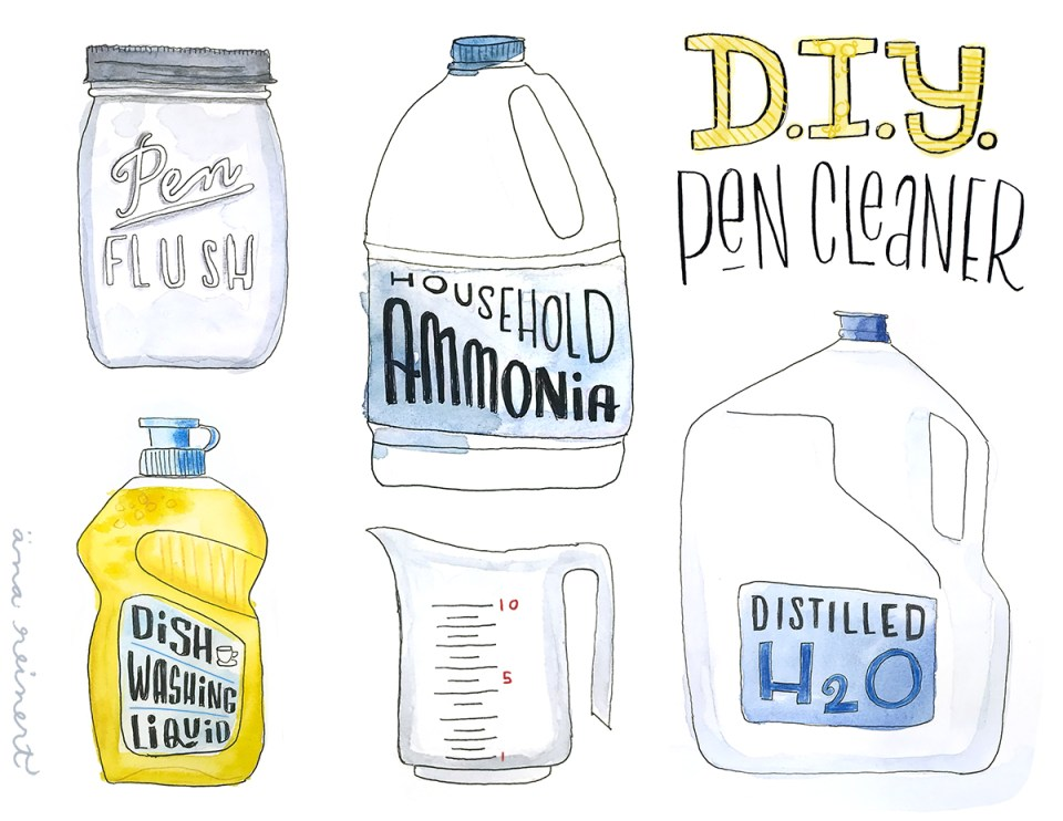 DIY pen cleaner Equipment needed