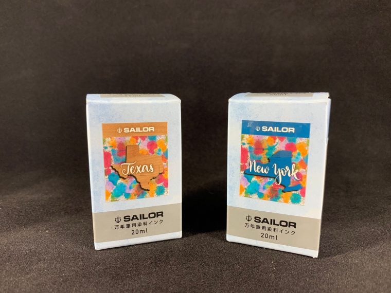 Ink Review: Sailor New York and Sailor Texas