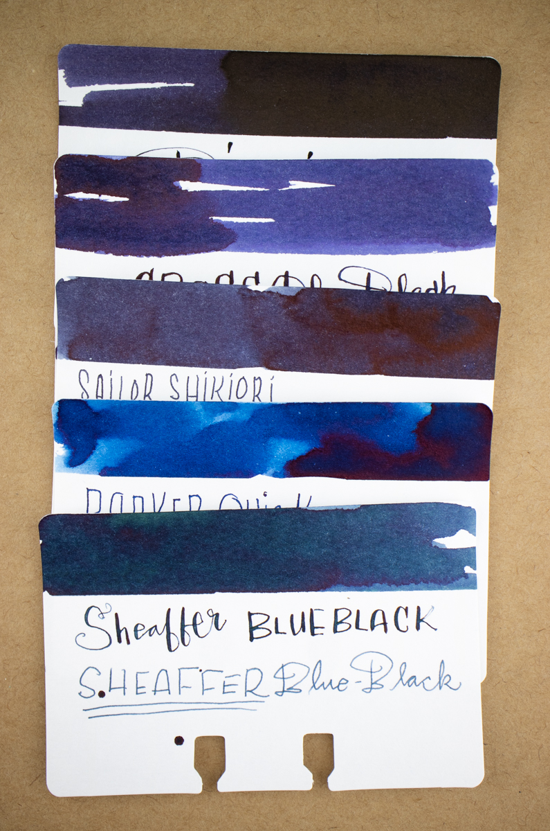 Cross Blue Black Comparison