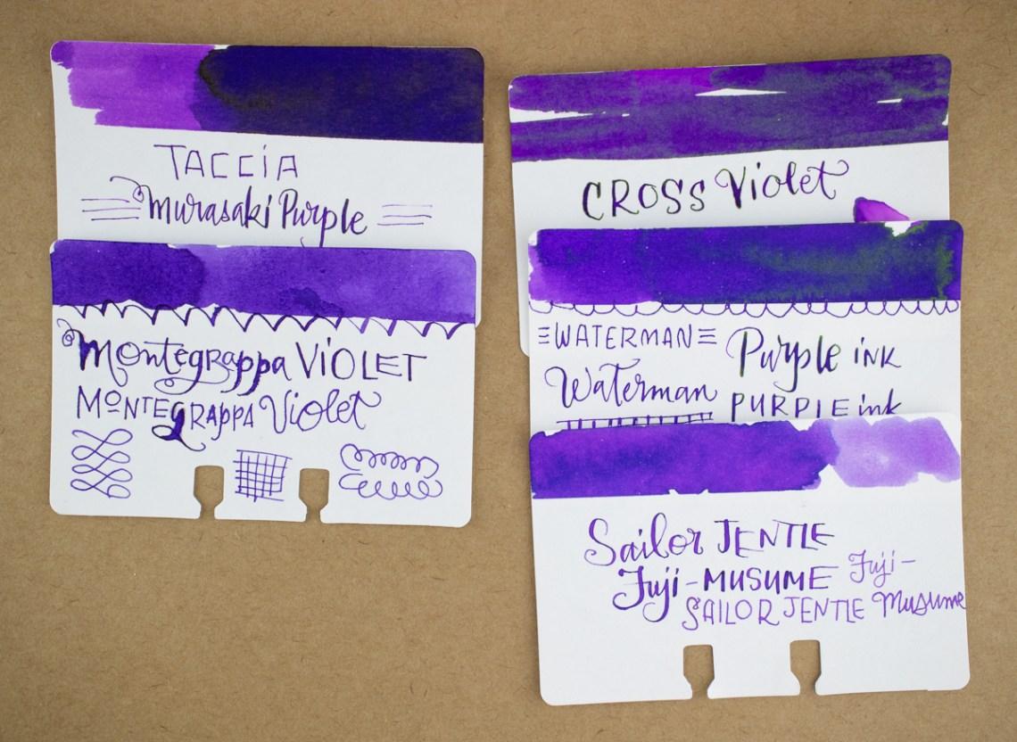 Cross Violet Comparison