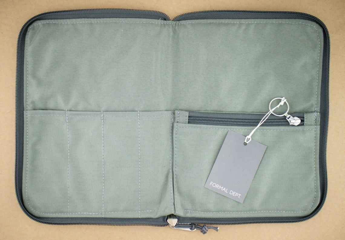 Formal Dept Notebook Case inside
