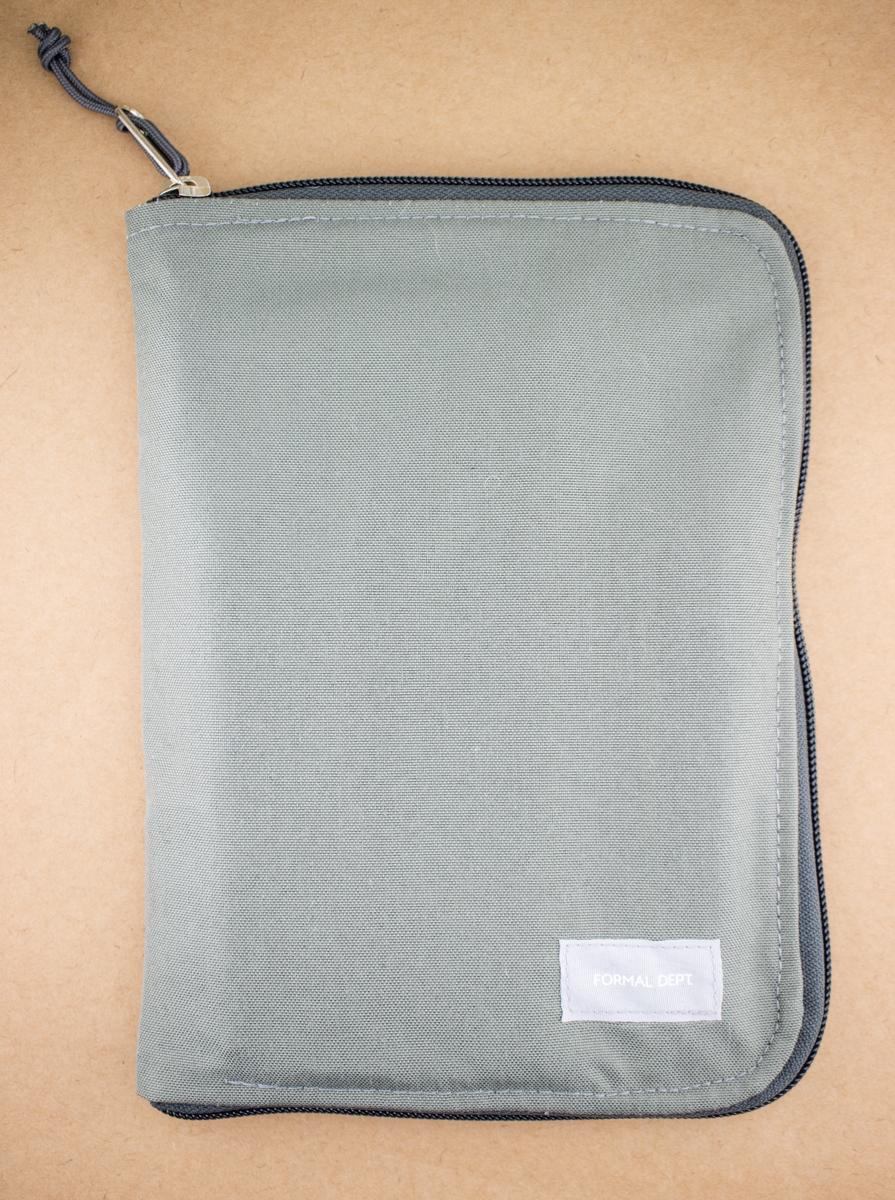 Formal Dept Notebook Case foliage grey