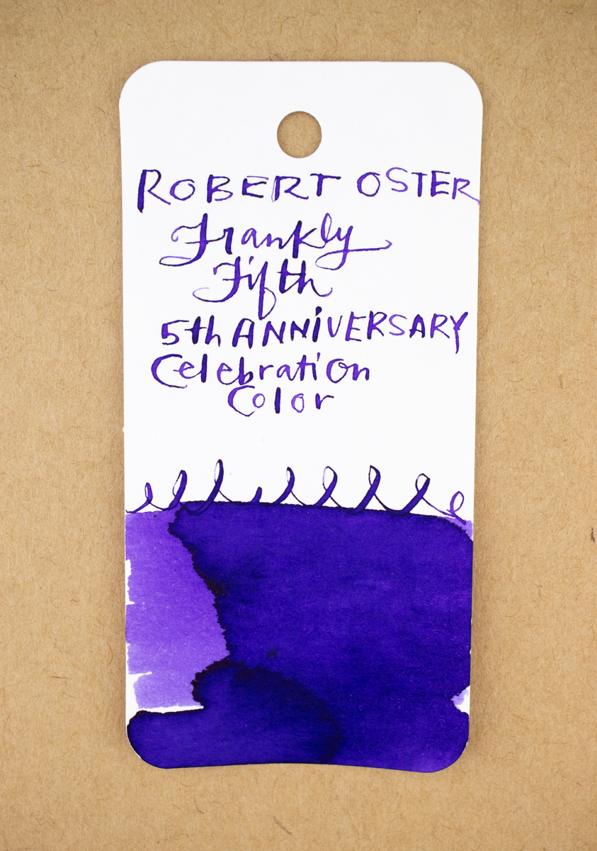 Robert Oster Frankly Fifth ink swatch