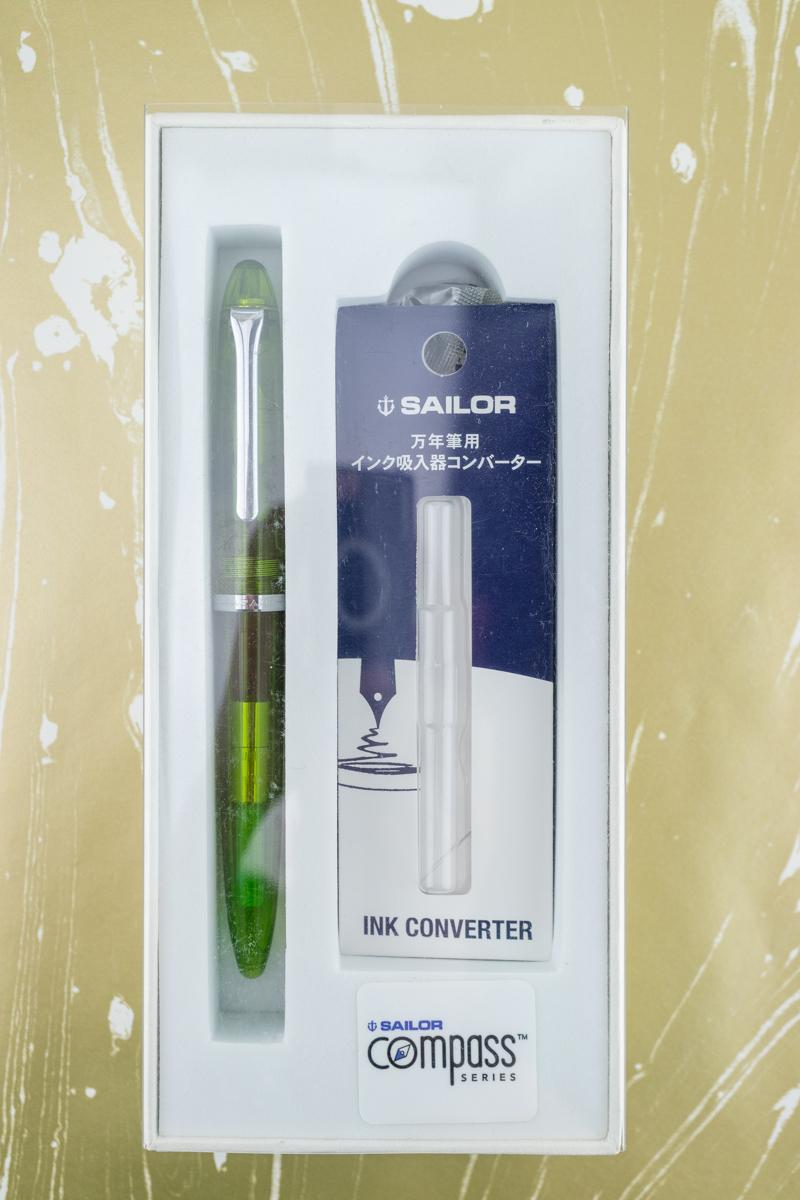 Sailor Compass packaging